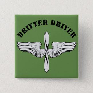 De Bestuurder van de drifter Vierkante Button 5,1 Cm