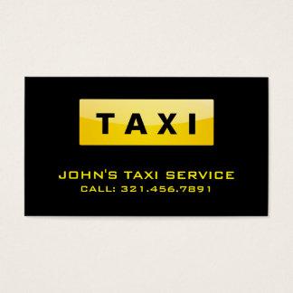 De Bestuurder van de taxi - Visitekaartjes