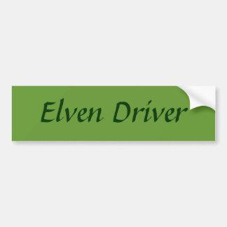 De Bestuurder van Elven Bumpersticker