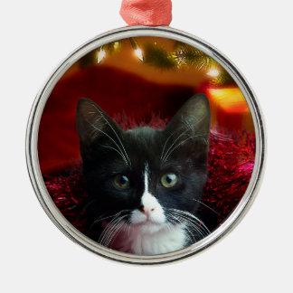De betekenis van Kerstmis Zilverkleurig Rond Ornament
