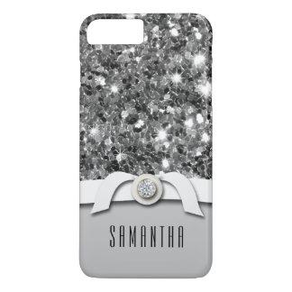 De betoverende Diamant en het Zilver schitteren iPhone 8/7 Plus Hoesje