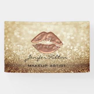 De betoverende moderne elegante lippen van