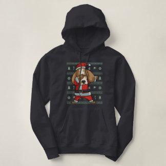 De bettende Dans van de Schar van Kerstmis van de Hoodie