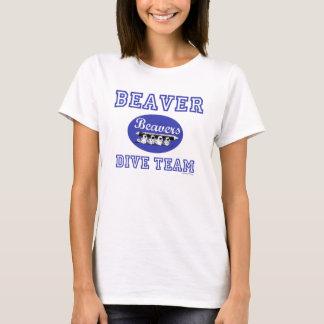 De bever duikt Team Lez T Shirt