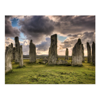 De Bevindende Stenen van Callanish Briefkaart