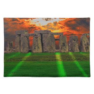 De Bevindende Stenen van Stonehenge bij Placemat