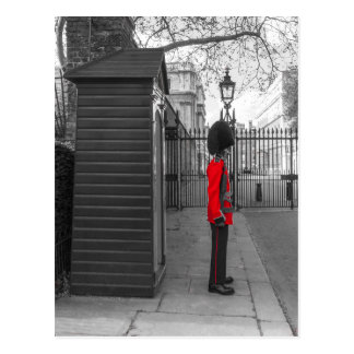 De bevindende wacht van de Wacht van de koningin Briefkaart