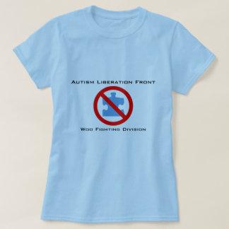 De Bevrijding van het autisme streeft het Vechten T Shirt