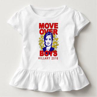 De Beweging van Hillary Clinton over het T-shirt