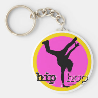 De bewegingen van de Dans van HIP HOP Sleutelhanger