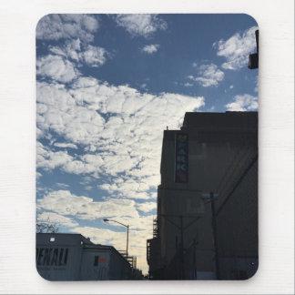 De bewolkte Fotografie NYC van de Stad van New Muismat