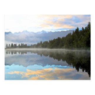 De Bezinning van het meer Briefkaart