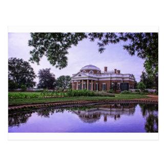 De Bezinning van Monticello Briefkaart