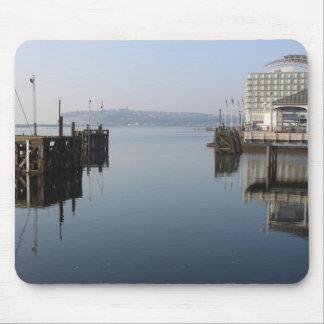 De Bezinningen van de Baai van Cardiff Muismatten