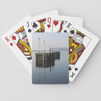 De Bezinningen van de Baai van Cardiff Pokerkaarten