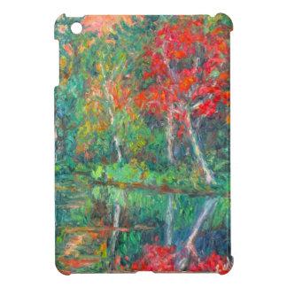 De Bezinningen van de herfst bij Pieken van Otter iPad Mini Hoesjes