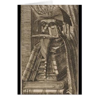De bibliothecaris briefkaarten 0