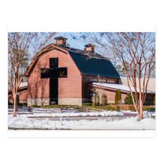 de bibliotheek van Billy Graham Briefkaart