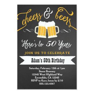 De bieren en juicht de Uitnodiging 30ste 40ste