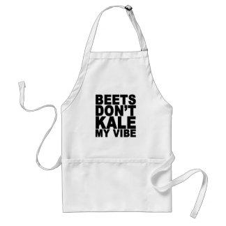 De bieten niet Boerenkool Mijn Vibe t-Shirt.png Standaard Schort