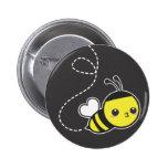 De Bij van de honing Speld Button