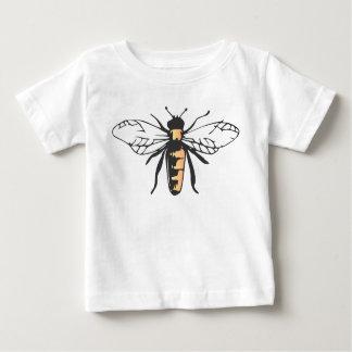 De bij van de Honing van de bij stuntelt Baby T Shirts