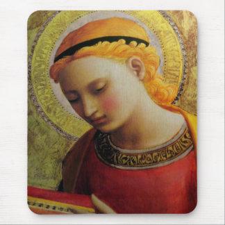 De Bijbel van de Lezing van de engel Muismatten
