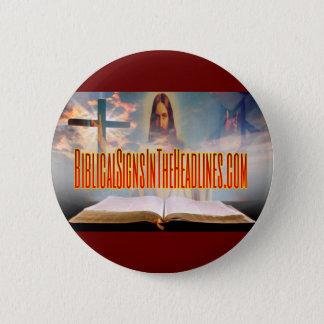 De bijbelse Knoop van Tekens Ronde Button 5,7 Cm