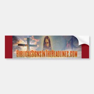 De bijbelse Sticker van de Bumper van Tekens ITH