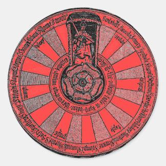 De bijeenkomst van Arthur Ronde Sticker