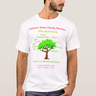 De Bijeenkomst van de familie (40ste Jubileum) T Shirt