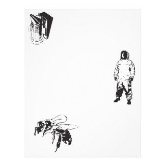 De bijen van de bestuiving flyer 21,6 x 27,9 cm