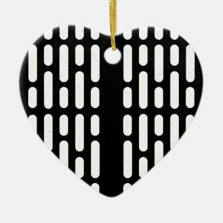 De Binnenlandse Verlichting van Deathstar Keramisch Hart Ornament