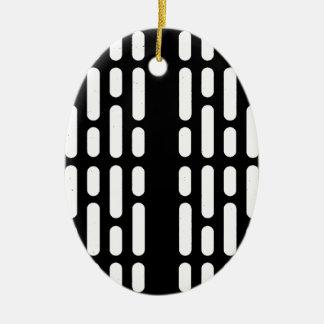 De Binnenlandse Verlichting van Deathstar Keramisch Ovaal Ornament