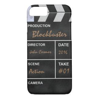 """De bioskoop """"Kassucces """" van Clapperboard iPhone 7 Hoesje"""