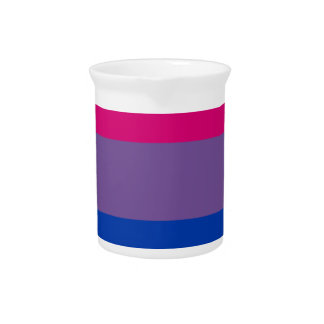 De biseksuele Vlag van de Regenboog van de Trots Limonade Pitchers