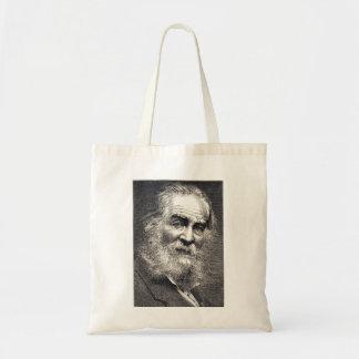 De Bladeren van Walt Whitman van de Gravure van Draagtas