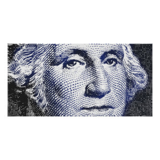 De Blauw van George Washington - Breed Poster