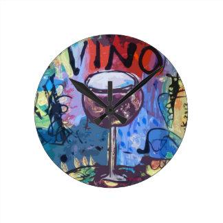 De Blauw van Vino Ronde Klok
