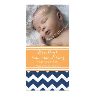 De blauwe Aankondiging van de Geboorte van het Fotokaart