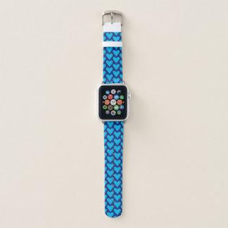 De blauwe Band van het Horloge van Apple van het