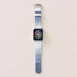 De blauwe Band van het Horloge van Ombre Apple van