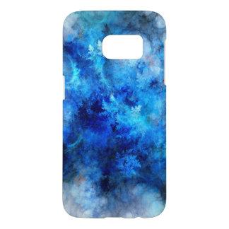 De blauwe Bevroren Melkweg van Samsung S7, Samsung Galaxy S7 Hoesje
