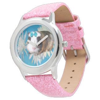 De blauwe Bloemen van het Proefkonijn, het Roze Horloge