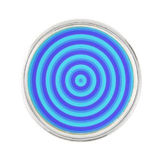 De Blauwe Cirkels van het psychedelische Neon Reverspeld