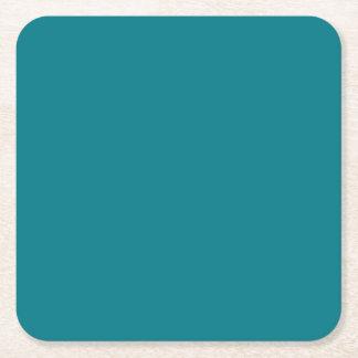 De BLAUWE de veranderingskleur van de Sjabloon DIY Vierkante Onderzetter