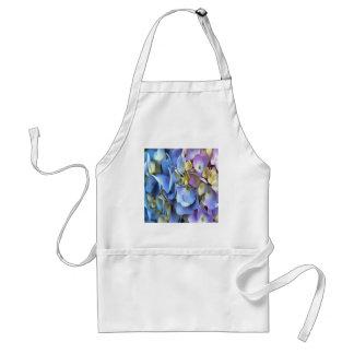 De blauwe en Roze Bloemen van de Hydrangea Standaard Schort