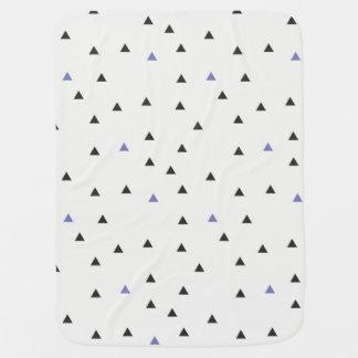 De blauwe en Zwarte Deken van Driehoeken Inbakerdoek