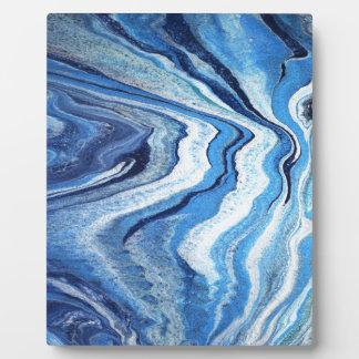 De blauwe Fonkeling van de Geode Fotoplaat