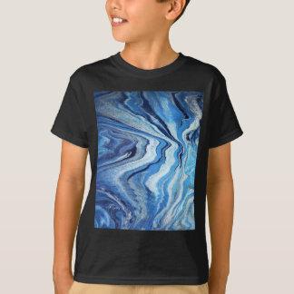 De blauwe Fonkeling van de Geode T Shirt